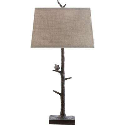 Vitullo 32 in. Bronze Indoor Table Lamp
