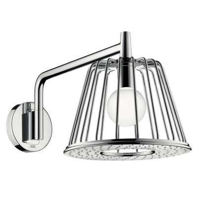 Axor 1-Spray 10-7/8 in. LampShower Trim Showerhead in Chrome (Valve Not Included)