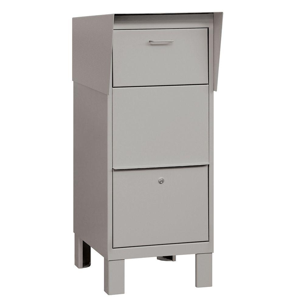 Salsbury Industries 4900 Series Courier Box in Gray