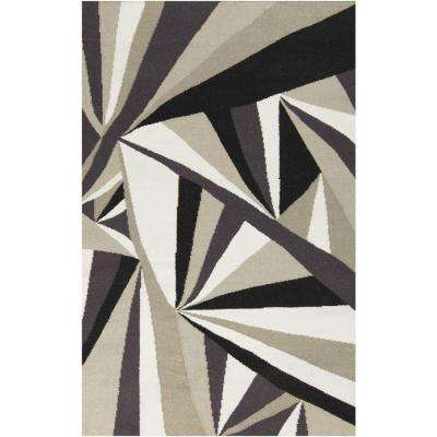 Voyages Light Gray 8 ft. x 11 ft. Indoor Area Rug