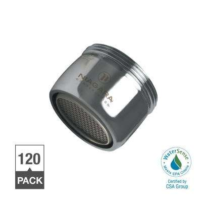 1.0 GPM Dual Thread Bubble Spray Faucet Aerator (120-Pack)