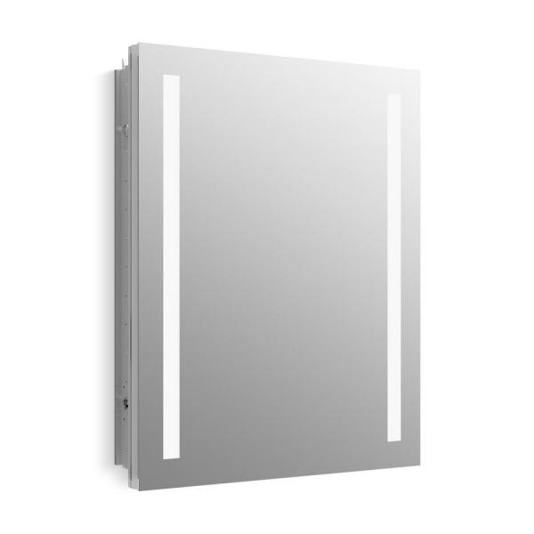 Verdera 24 in. W x 30 in. H Surface-Mount Lighted Medicine Cabinet