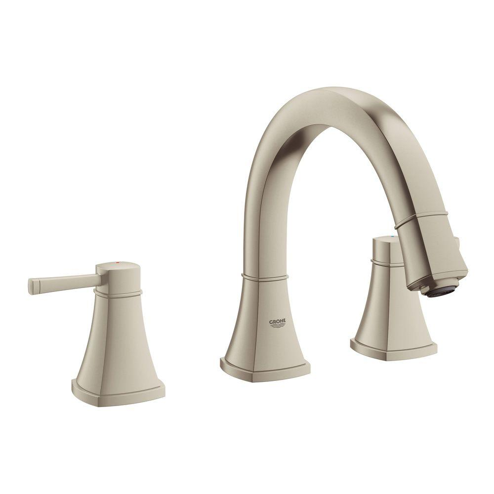 Grohe Grandera 2 Handle Deck Mount Roman Tub Faucet In