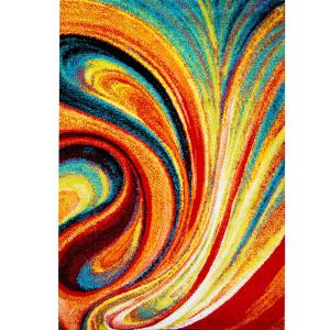 Home Dynamix Splash Multi 7 ft. 10 inch x 10 ft. 2 inch Indoor Area Rug by Home Dynamix