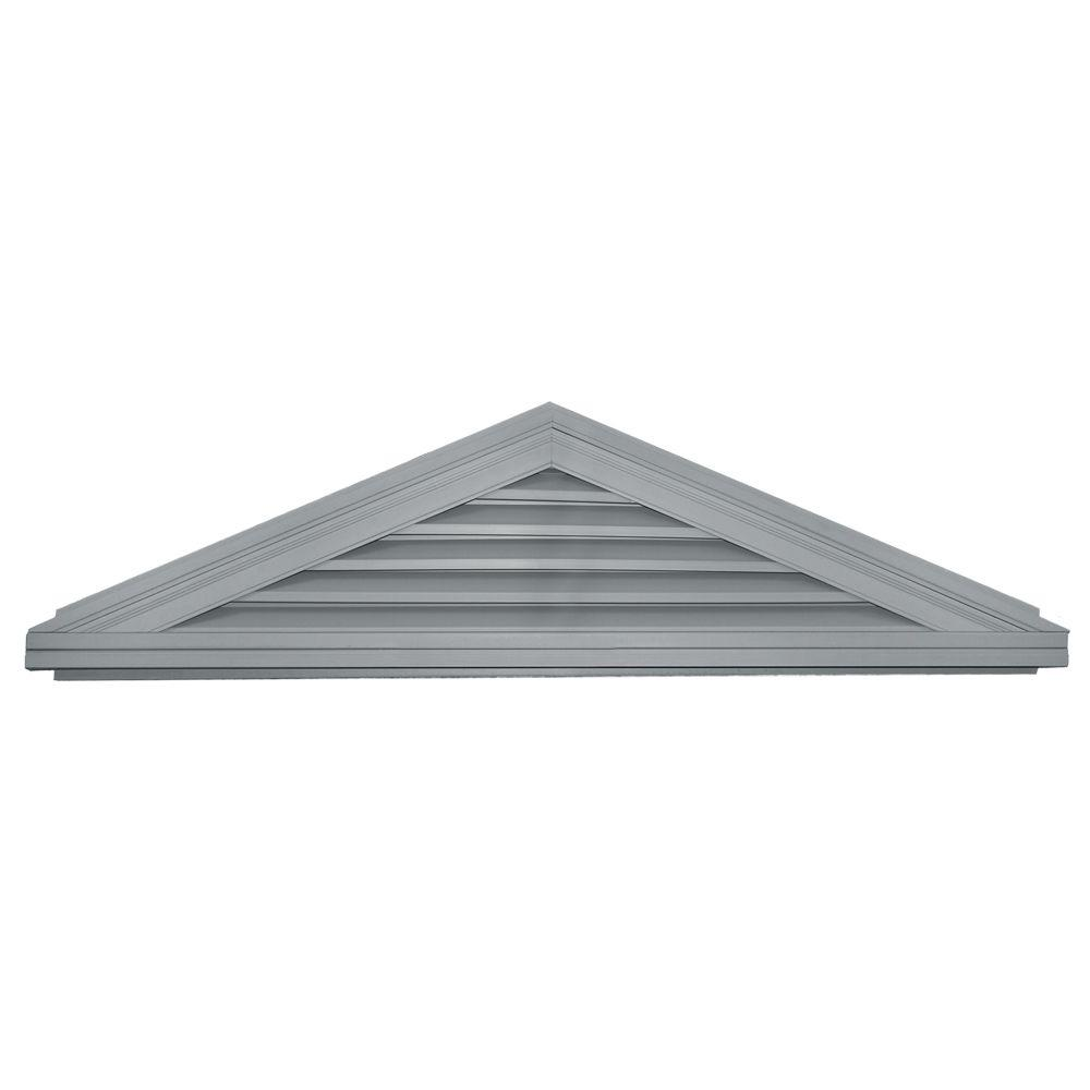 Builders Edge 5/12 Triangle Gable Vent #030 Paintable