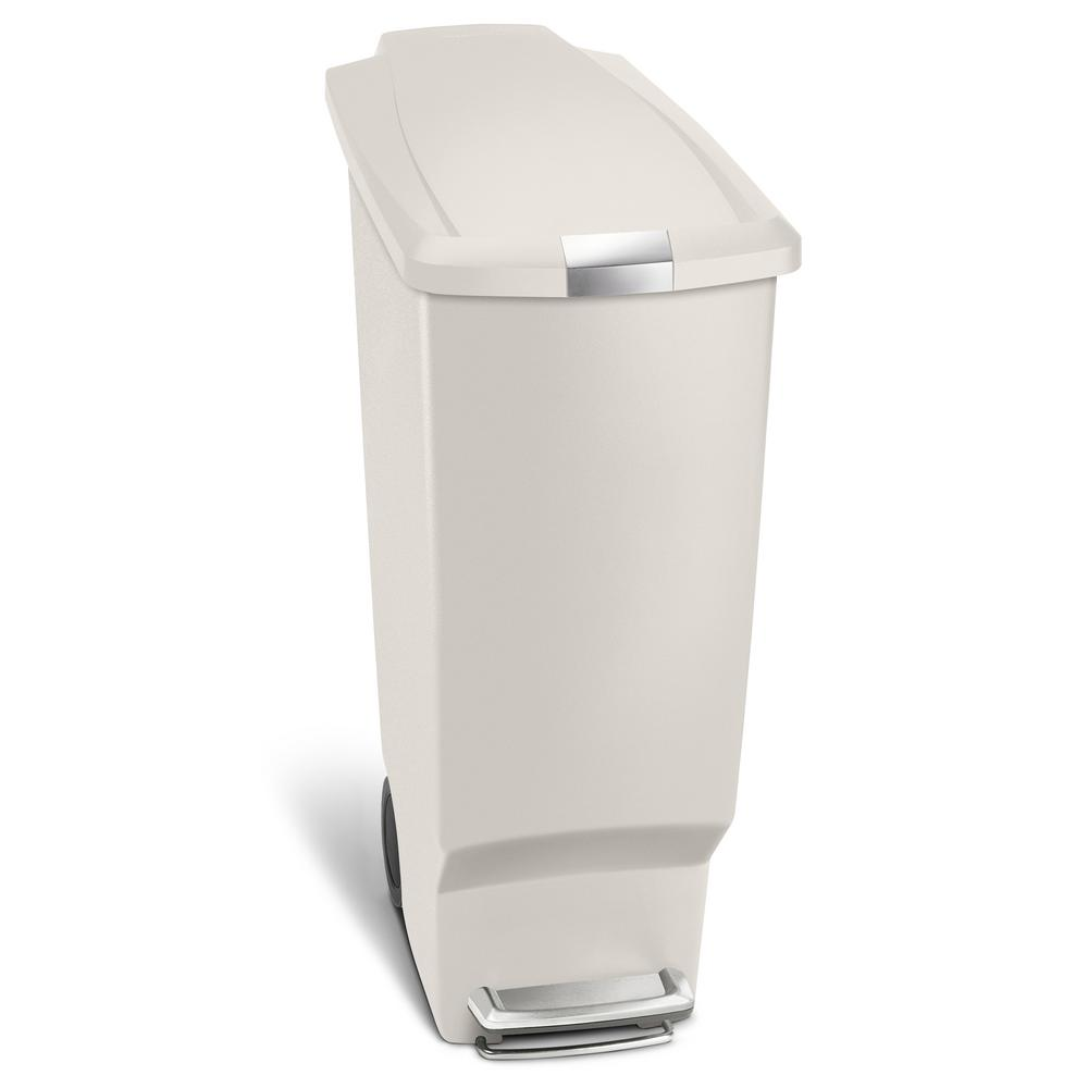 how to clean simplehuman trash can