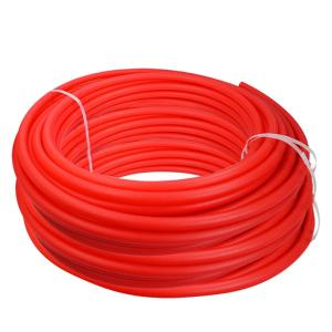 The Plumber S Choice 1 2 In X 1000 Ft Pex Tubing Oxygen Barrier Radiant Heating Pipe Red Pobr121000 Home Depot