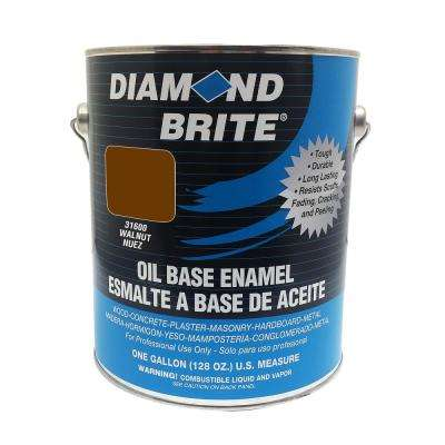 1 gal. Walnut Oil Base Enamel Interior/Exterior Paint