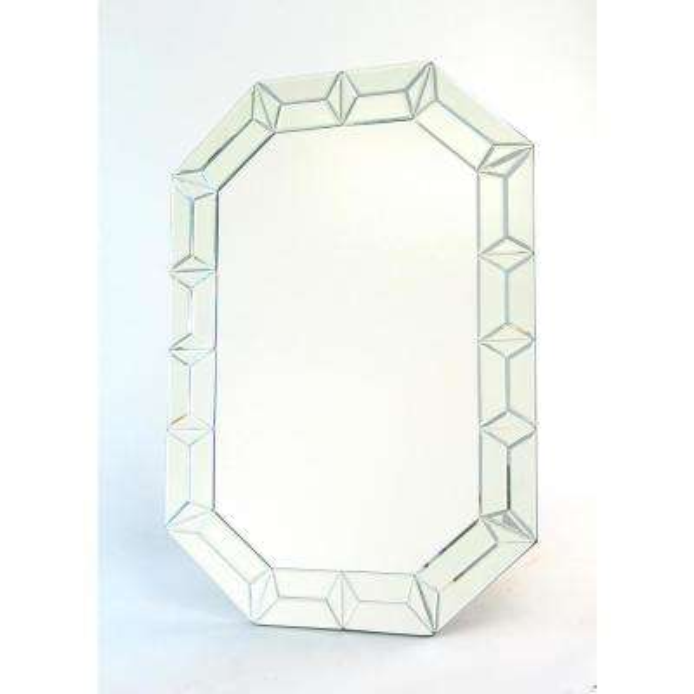 Beveled Diamond Mirror