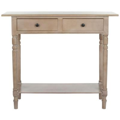 American Home Vintage Gray Storage Console Table