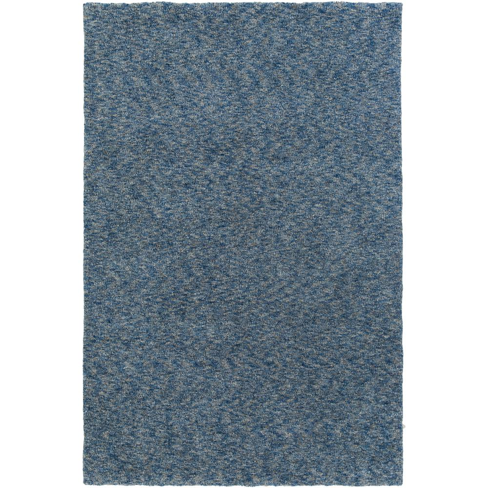 Sally Maise Denim Blue 4 ft. x 6 ft. Indoor Area