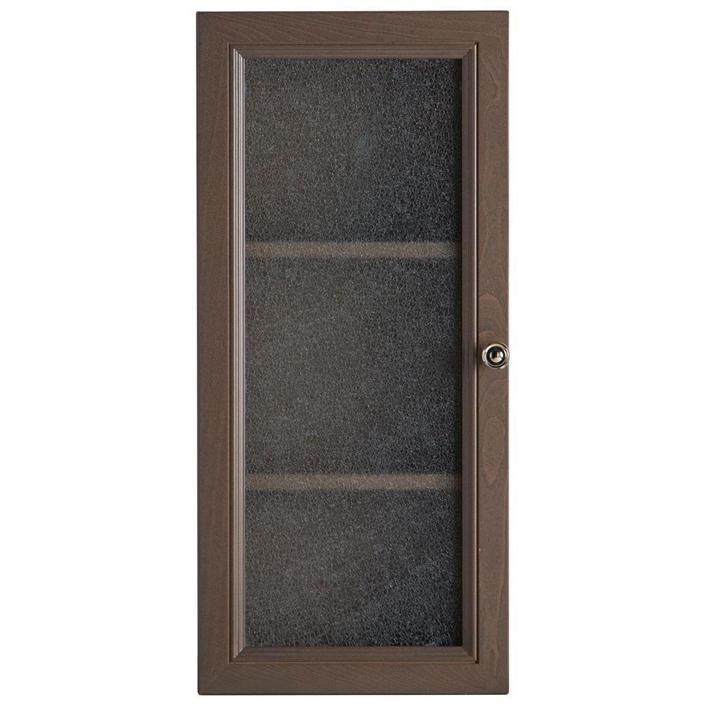 Delridge 13-1/2 in. W x 29-1/2 in. H x 5-7/10 in. D Bathroom Storage Wall Cabinet in Flagstone