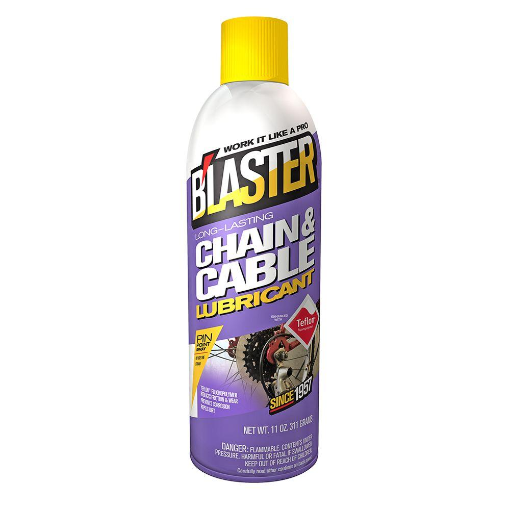 Blaster 11 oz. Long-Lasting Chain and Cable Lubricant-16-CCL - The ...