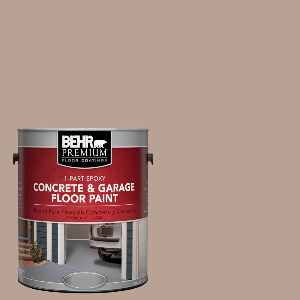1 gal. #N190-4 Rugged Tan 1-Part Epoxy Concrete and Garage Floor