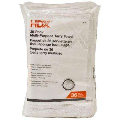 14 in. x 17 in.  Multi-Purpose Terry Cloth (36-Pack)