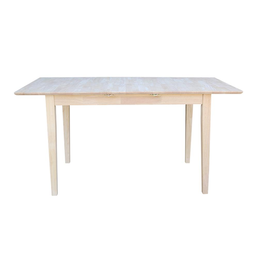 Unfinished Dining Room Table: International Concepts Unfinished Dining Table-K-T32X-30S