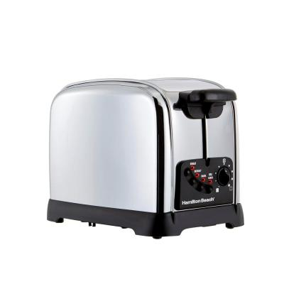 Classic 2-Slice Stainless Steel Wide Slot Toaster