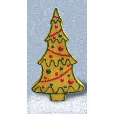 27.96 in. Gingerbread Tree with Light