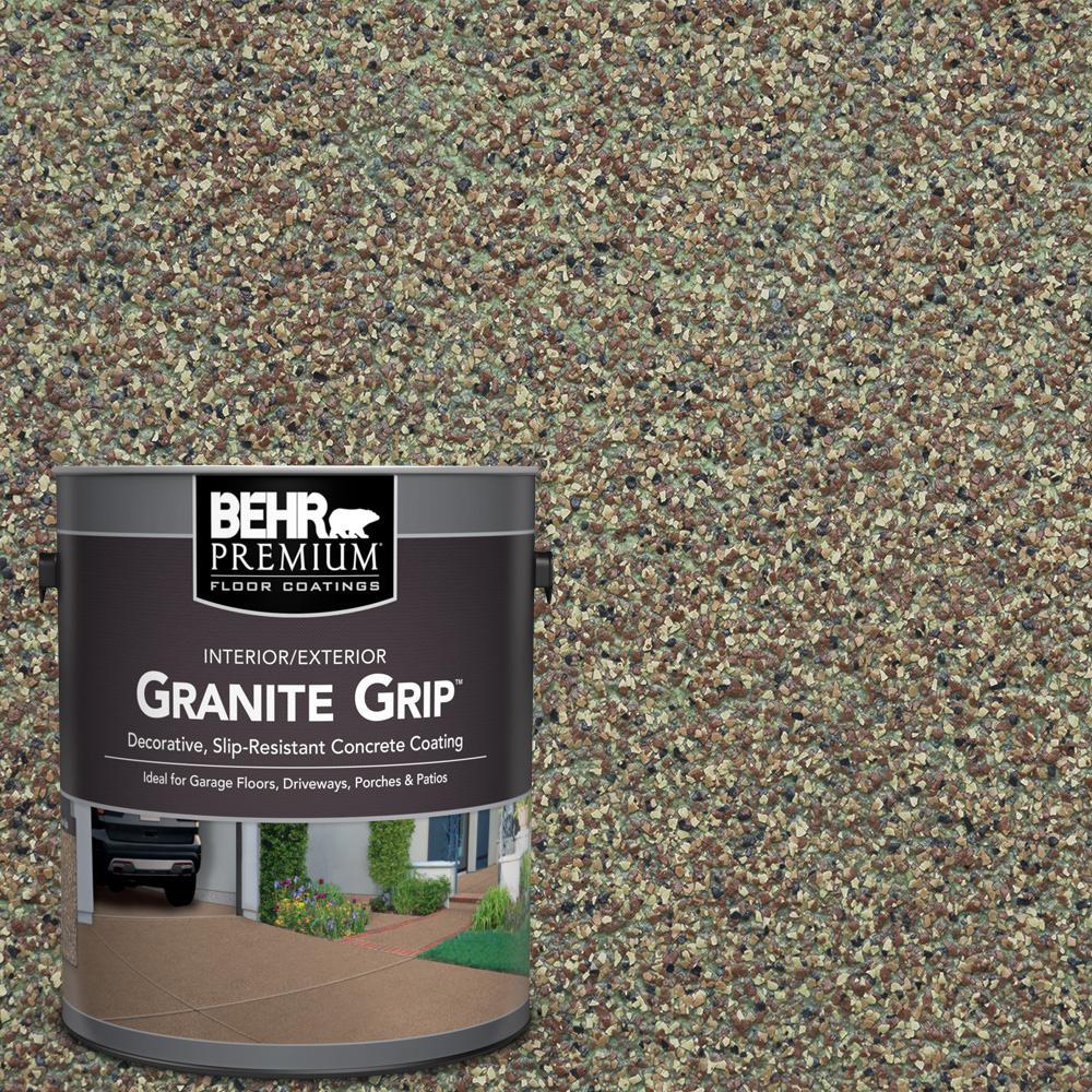 BEHR Premium 1 gal. #GG-12 Imperial Jade Decorative Flat Interior/Exterior Concrete Floor Coating