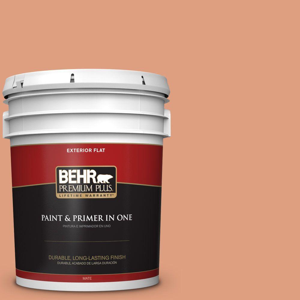 5-gal. #230D-4 Pecos Spice Flat Exterior Paint