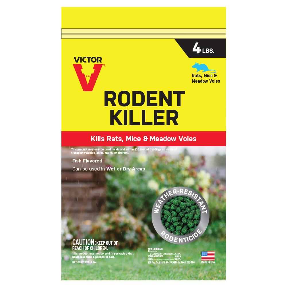 Victor 4 Lbs. Rodent Killer-M925