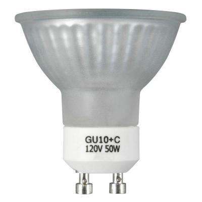 50-Watt Halogen MR16 GU10 Frosted Medium Flood Light Bulb