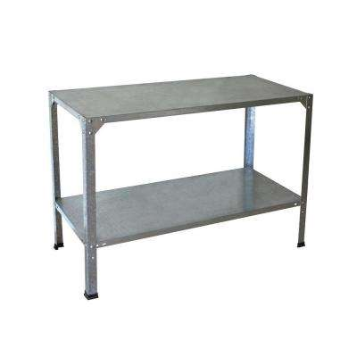 20 in. x 45 in. x 31 in. Steel Work Bench
