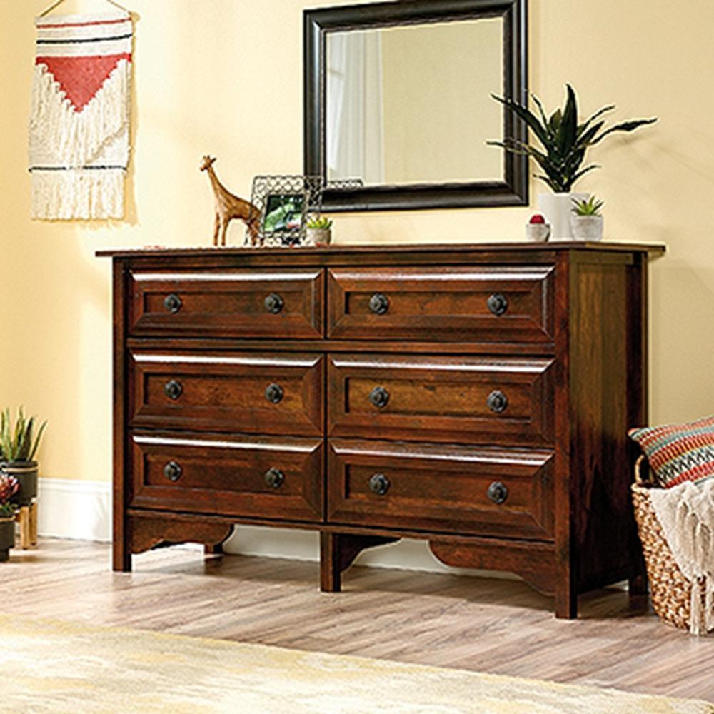 Viabella Collection 6-Drawer Curado Cherry Dresser