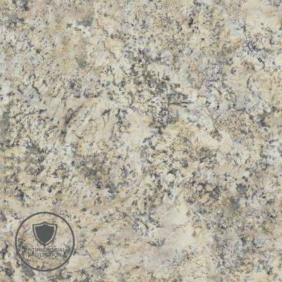 2 in. x 3 in. Laminate Countertop Sample in Typhoon Ice with Premium Quarry Finish