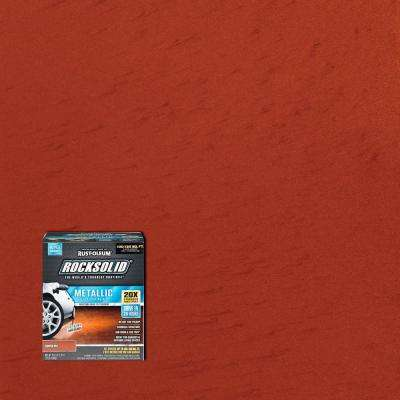 Metallic Copper Pot Garage Floor Kit 2 Pack