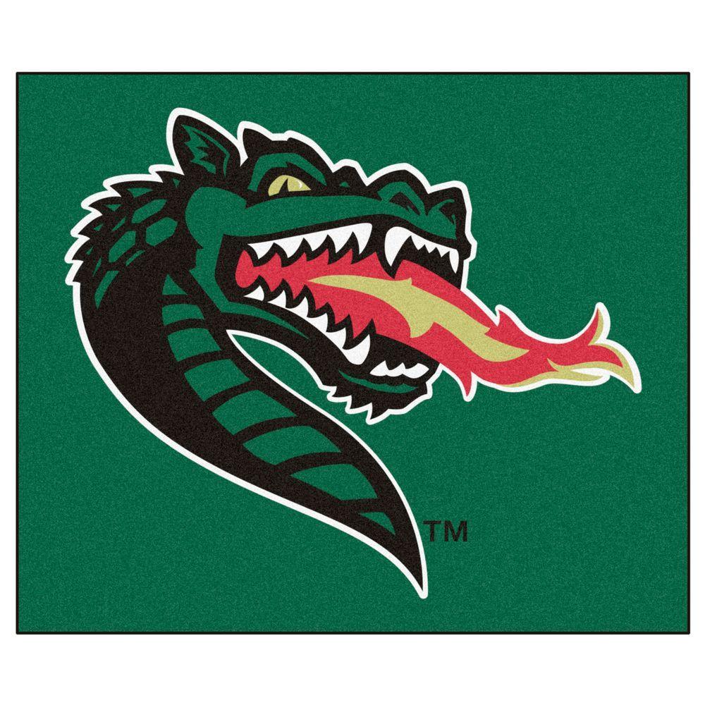 NCAA University of Alabama Birmingham Green 5 ft. x 6 ft. Area Rug
