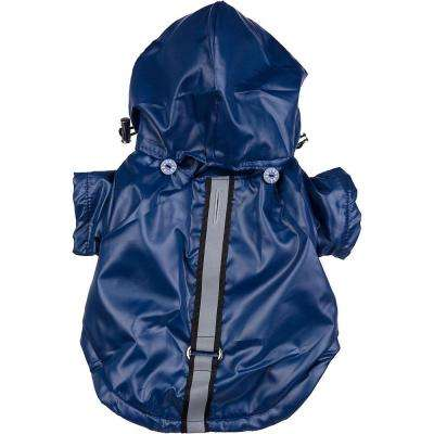 X-Small Blue All Weather Casual Windbreaker