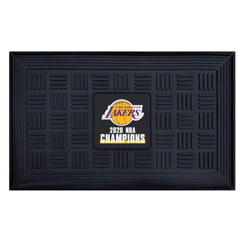 NBA - Los Angeles Lakers 2020 NBA Finals Champions Heavy Duty Door Mat - 19.5in. x 31in.