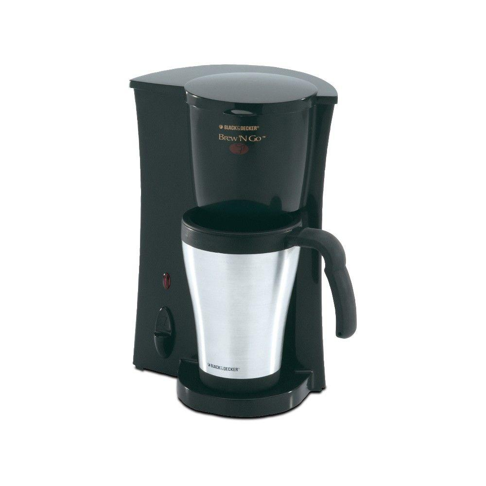 BLACK+DECKER Brew 'n Go 15 oz. Deluxe Coffee Maker-DISCONTINUED