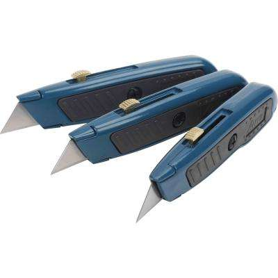 Retractable Utility Knife Set (3-Pack)