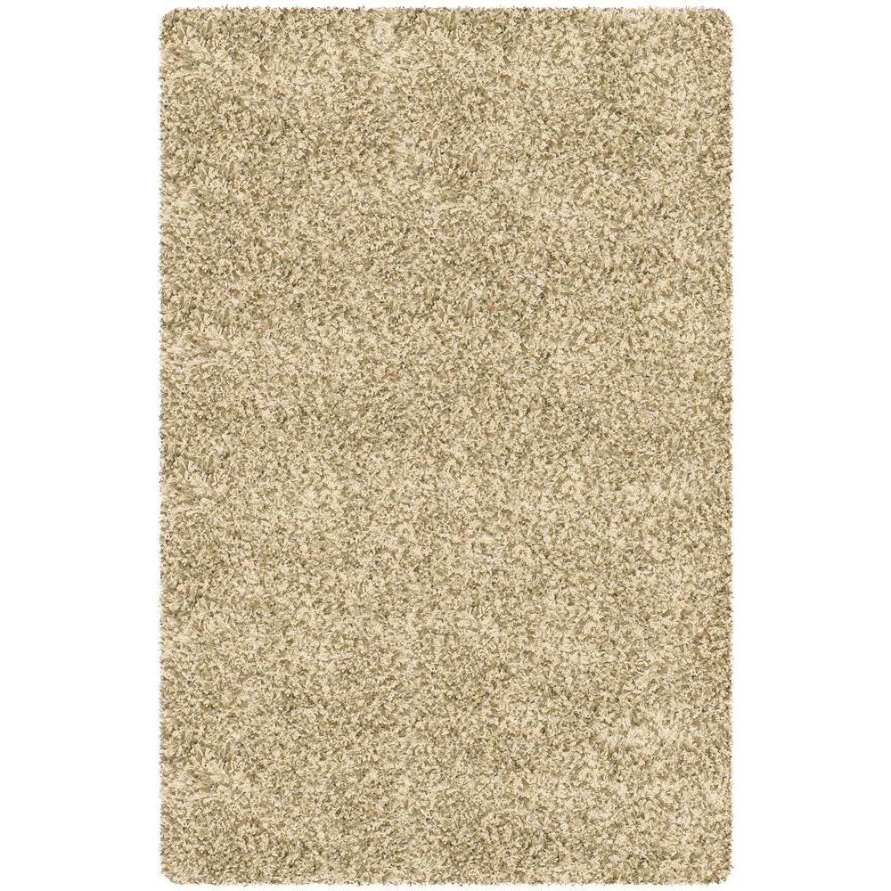 Chandra Core Shag Cream/Ivory 9 ft. x 13 ft. Indoor Area Rug