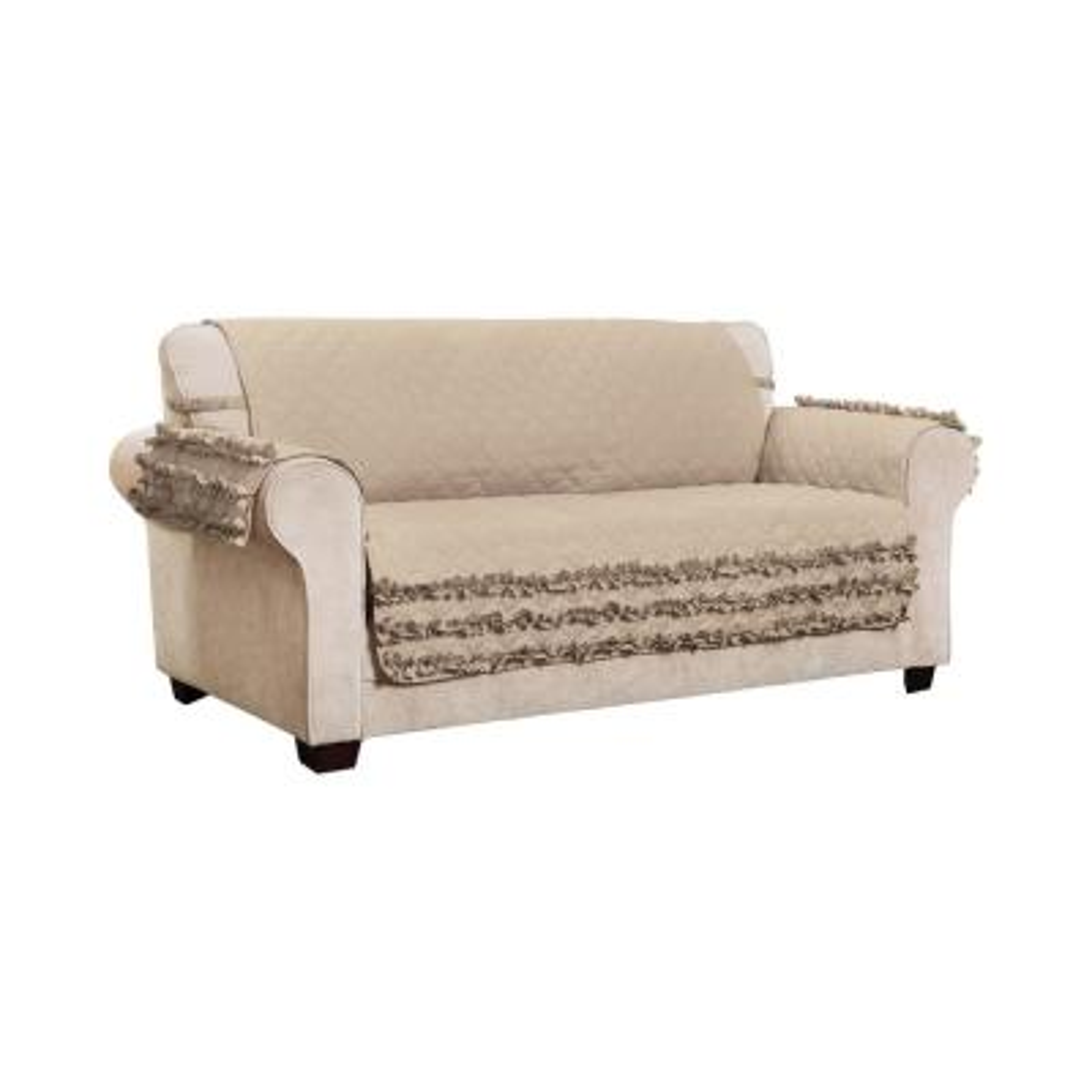 Claremont Ruffled Sofa Furniture Cover