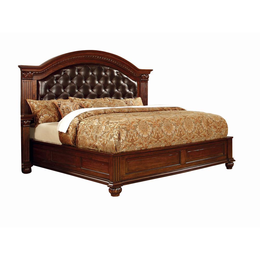 Grandom Queen Bed in Cherry