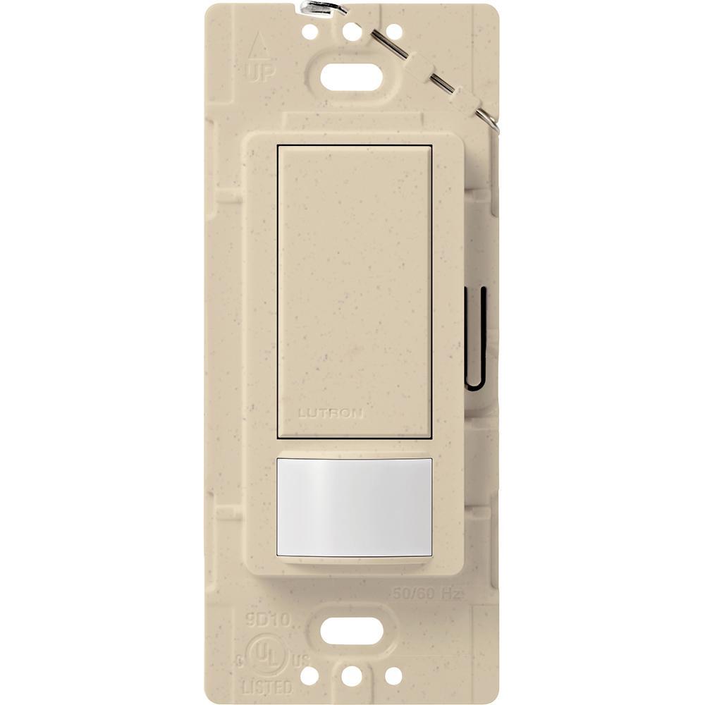 Maestro Motion Sensor switch, 2-Amp, Single-Pole, Stone