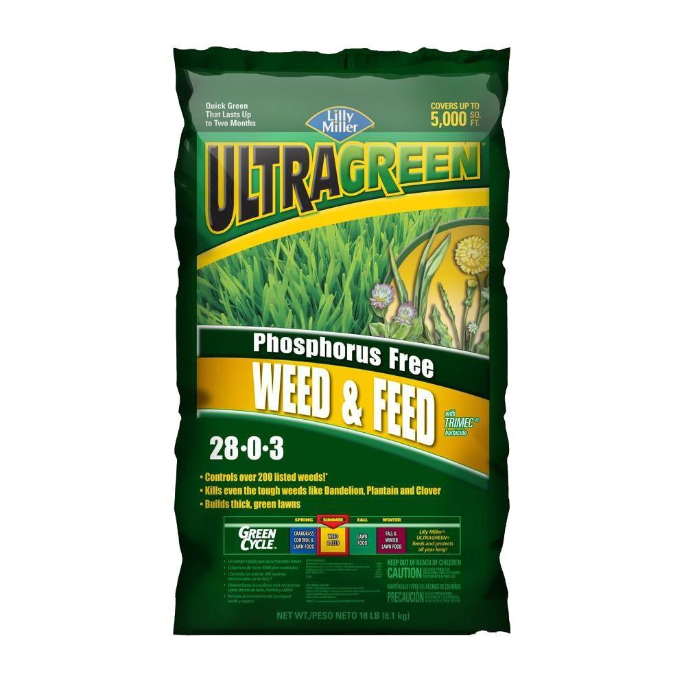 Ultragreen 18 lbs. 28-0-3 Weed and Feed