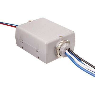 20 Amp Standard Power Pack for Occupancy Sensors: Auto-On, Latching Relay, Gray
