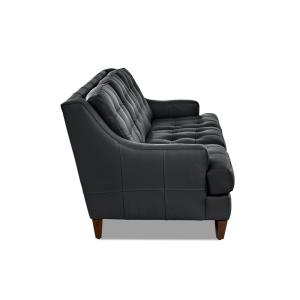 Superb Avenue 405 Franco Leather Sofa In Black Ocoug Best Dining Table And Chair Ideas Images Ocougorg
