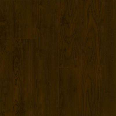 Maple Chocolate 12 mm Thick x 4.92 in. Wide x 47.76 in. Length Laminate Flooring (13.09 sq. ft. / case)