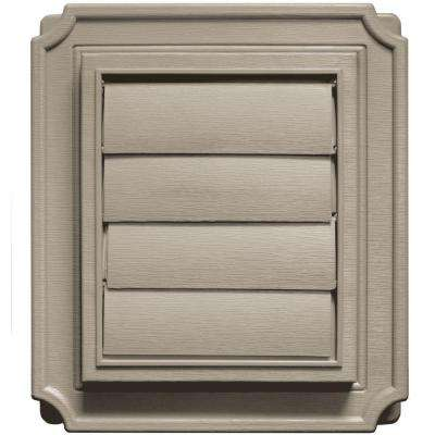 Scalloped Exhaust Siding Vent #097-Clay