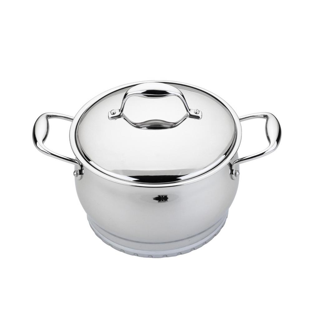 Essentials 2.1 Qt. Stainless Steel Covered Casserole