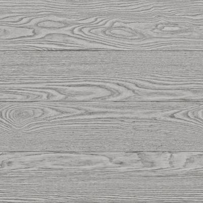 Grey Salvaged Wood Peel and Stick Wallpaper Sample