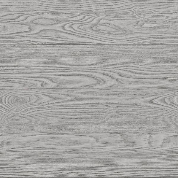 30.8 sq. ft. Grey Salvaged Wood Peel and Stick Wallpaper