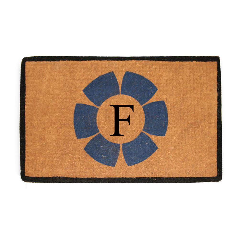 A1HC First Impression Handwoven Floella 24 in. x 39 in. Coir