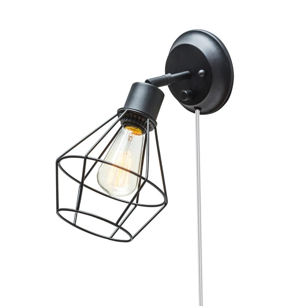 clear with shade globe design lights depot home electric in terrific ideas plug well black as wall light sconce