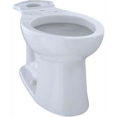 Entrada Elongated Toilet Bowl Only in Cotton White